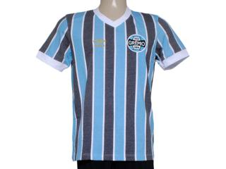 Camiseta Masculina Grêmio 3g00019 Retrô Tricolor - Tamanho Médio
