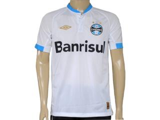 Camiseta Masculina Grêmio 3g00001 Branco/celeste - Tamanho Médio