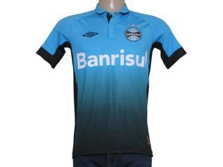 Camiseta Masculina Grêmio 3g00029 Azul/preto - Tamanho Médio