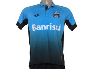 Camiseta Masculina 3g00005 Grêmio Azul - Tamanho Médio