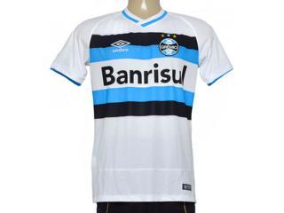 Camiseta Masculina 3g00054 Grêmio Fan Branco/azul/preto - Tamanho Médio