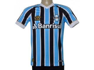 Camiseta Masculina Grêmio 3g160335 Of.1 2018 Game Tricolor - Tamanho Médio
