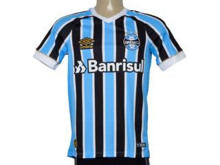 Camiseta Masculina Grêmio 3g160652 Of. 1 2018 Fan S/n Tricolor - Tamanho Médio