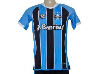 Camiseta Masculina Grêmio 3g160088 of 1 2017 Fan Tricolor - Tamanho Médio