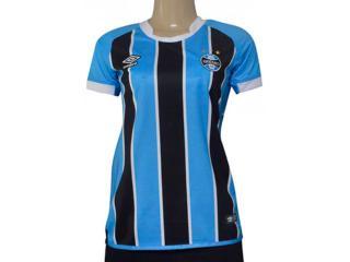 Camiseta Feminina Grêmio 3g160090 of 1 2017 Tricolor - Tamanho Médio