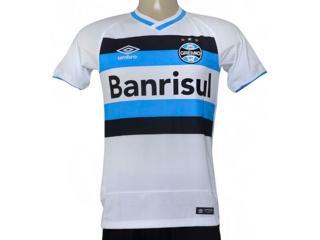 Camiseta Masculina Grêmio 3g00052 of 2 2016 Branco/azul/preto - Tamanho Médio