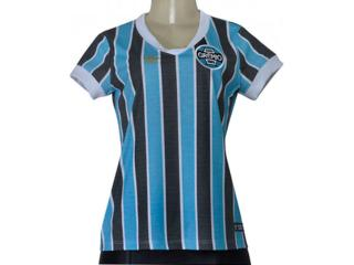 Camiseta Feminina Grêmio  3g00032 Retrô Tricolor - Tamanho Médio