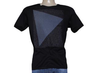 Camiseta Masculina Index 08.02.000238 Preto - Tamanho Médio
