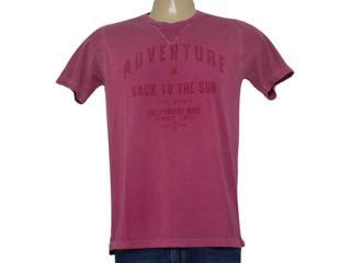 Camiseta Feminina Individual 304.22222.227 Bordo - Tamanho Médio
