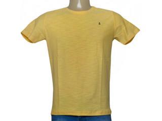 Camiseta Masculina King & Joe Ca09109 Amarelo - Tamanho Médio