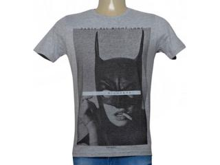 Camiseta Masculina King & Joe Ca09006 Mescla - Tamanho Médio