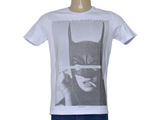 Camiseta Masculina King & Joe Ca09006 Branco - Tamanho Médio