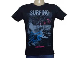 Camiseta Masculina King & Joe Ca09004 Preto - Tamanho Médio