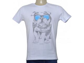 Camiseta Masculina King & Joe Ca09013 Branco - Tamanho Médio