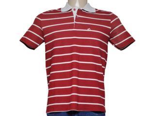Camiseta Masculina Mineral 98574 Listrado Vermelho - Tamanho Médio