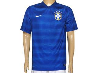 Camiseta Masculina Nike 575282-493 Cbf ss Away Stadium Jsy Azul - Tamanho Médio