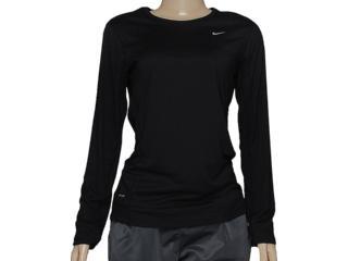Camiseta Feminina Nike 519833-010 Miller Preto - Tamanho Médio