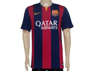 Camiseta Masculina Nike 610594-422 Fcb h a gk Stadium Otc Bordo/marinho - Tamanho Médio