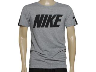 Camiseta Masculina Nike 614793-064 Blindside Top-swoosh Plus Mescla/preto - Tamanho Médio