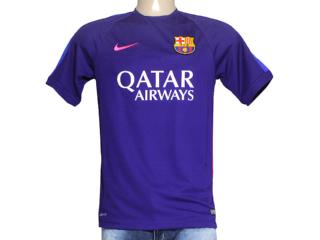 Camiseta Masculina Nike 643549-548 Fcb Squad Roxo - Tamanho Médio