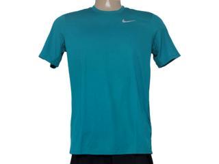 Camiseta Masculina Nike 667672-309 em Racer ss  Verde - Tamanho Médio