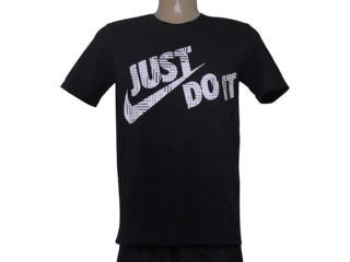 Camiseta Masculina Nike 684079-010 Tee-loi Jdi Swoosh  Preto - Tamanho Médio