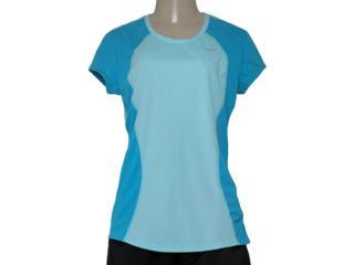 T-shirt Feminino Nike 645443-437 Racer ss Top  Azul - Tamanho Médio