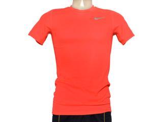 Camiseta Masculina Nike 667672-672 em Racer ss Laranja - Tamanho Médio