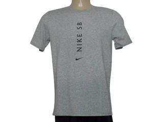 Camiseta Masculina Nike 875337-063 m nk sb Dry Tee Dfc Cinza - Tamanho Médio
