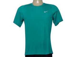 Camiseta Masculina Nike 683527-351 df Miler Verde - Tamanho Médio