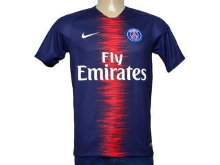Camiseta Masculina Nike 894432-411 Paris Saint Germani   Stad Jsy Marinho - Tamanho Médio