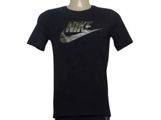 Camiseta Masculina Nike Aj6633-011 Sportswear Preto - Tamanho Médio