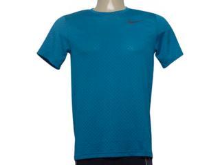 Camiseta Masculina Nike 886742-301 m nk Brt Top ss Vent Azul - Tamanho Médio