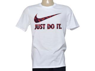 Camiseta Masculina Nike 779708-100 Tee-ultra Jdi  Branco - Tamanho Médio