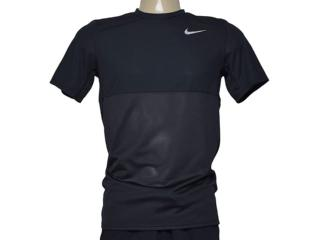 Camiseta Masculina Nike 644396-011 Racer  ss  Preto - Tamanho Médio