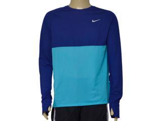 Camiseta Masculina Nike 683574-455 Fit Racer Royal/azul - Tamanho Médio