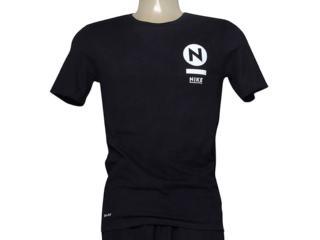 Camiseta Masculina Nike 806067-010 sb Transit  Preto - Tamanho Médio