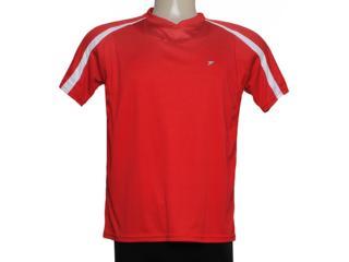 Camiseta Masculina Poker 04671 Vermelho/branco - Tamanho Médio