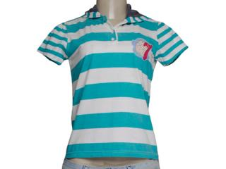 Camiseta Feminina Tng I9fkw07 Verde - Tamanho Médio