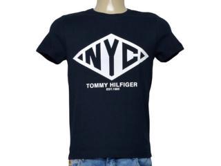 Camiseta Masculina Tommy Thmw0mw08354 403 Preto - Tamanho Médio