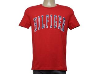 Camiseta Masculina Tommy Thmw0mw08369 611 Vermelho - Tamanho Médio