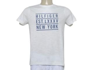Camiseta Masculina Tommy Th0887894984 Branco - Tamanho Médio