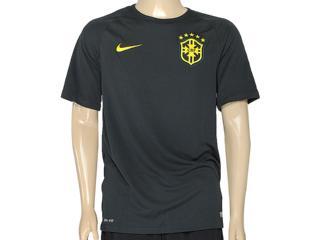 Camiseta Masculina Nike 575284-337 Cbf ss 3rd Stadm Musgo Escuro - Tamanho Médio