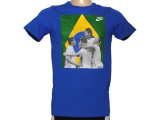 Camiseta Masculina Nike 588307-493 Southern Fan Army Tee Azul - Tamanho Médio