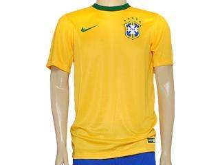Camiseta Masculina Nike 575715-703 Cbf Supporters Tee Amarelo - Tamanho Médio