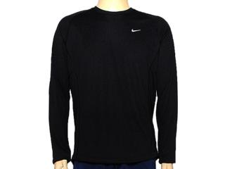 Camiseta Masculina Nike 519700-010 Miler ls uv Preto - Tamanho Médio