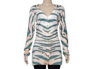 Cardigan Feminino Index 09.05.000045 Zebra - Tamanho Médio