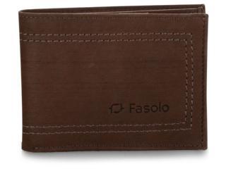 Carteira Masculina Fasolo K650067 009 Chocolate - Tamanho Médio