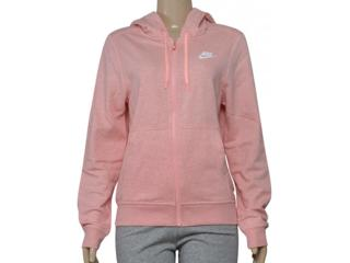 Casaco Feminino Nike 853930-697 w Ssw Hoodie fz Rosa - Tamanho Médio