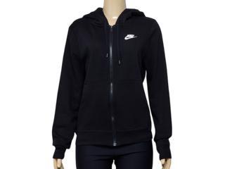 Casaco Feminino Nike 853930-010 w Nsw Hoodie fz Flc Preto - Tamanho Médio